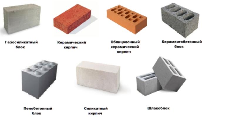 Какие использовать блоки  для строительства дома коттеджа.